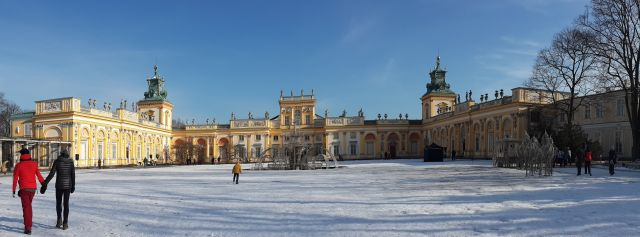 Another place to visit is the Willanow Palace, it is a really beautiful palace!